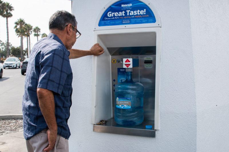 ubicacuion maquina vending agua purificada