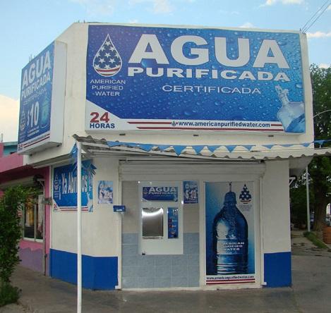 negocio máquina vending de agua purificada
